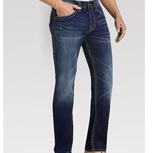 Silver Jeans Zac Dark Wash Relaxed Fit Jeans